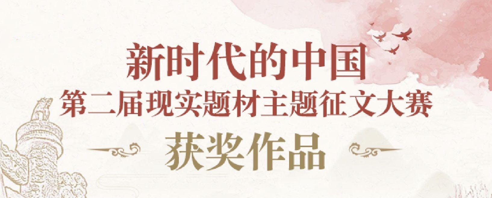 新时代的中国第二届现实题材主题征文大赛获奖作品
